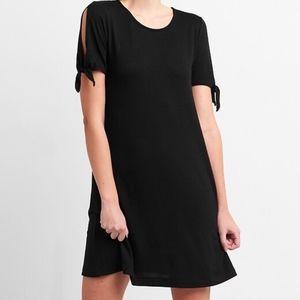 NWT Gap Softspun Tie Sleeve Swing Dress Xs